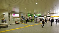 Kawagoe Station JR ticket barriers 20160223.JPG