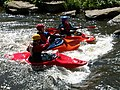 Kayakers at the Burrs Activity Centre - geograph.org.uk - 10564.jpg