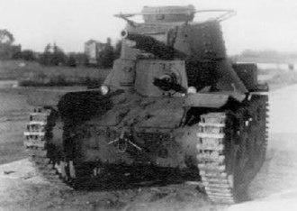 Type 95 Ha-Go light tank - Type 4 Ke-Nu light tank