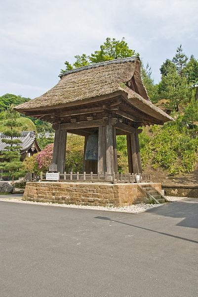 Les temples japonais 401px-Kencho-ji%2C-Bell