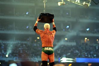 "Money in the Bank ladder match - Mr. Kennedy became ""Mr. Money in the Bank"" at WrestleMania 23, but was unable to cash in the contract"