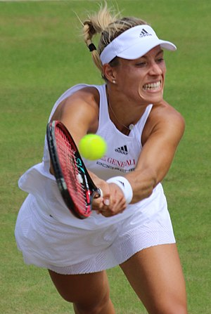 Angelique Kerber - Kerber at the 2017 Wimbledon Championships
