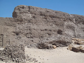 Shunet El Zebib Archaeological site in Egypt