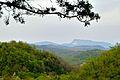 Khvami Range as seen from the Motsameta monastery, Georgia.jpg