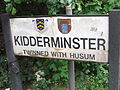 Kidderminster sign on the A456 - DSCF0978.JPG