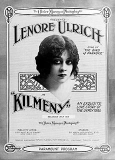 <i>Kilmeny</i> (film) 1915 film by Oscar Apfel