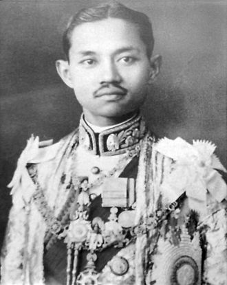 Supreme Council of State of Siam - King Prajadhipok the seventh King of the Chakri Dynasty, he came to the throne in 1925.
