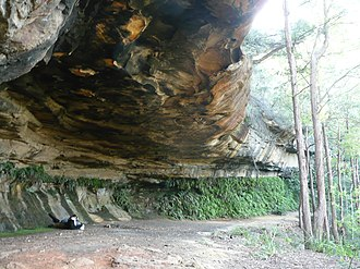 Linden, New South Wales - Image: Kings Cave