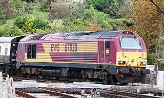 British Rail Class 67 class of 30 Bo′Bo′ diesel-electric locomotives