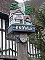 Knowle Millennium Sign - geograph.org.uk - 1107773.jpg