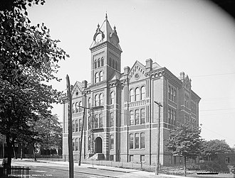 Knoxville High School (Tennessee) - The old Girls' High School, where Knoxville's female students attended high school before the opening of Knoxville High