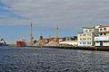 Kołobrzeg, Hafen, x (2011-07-26) by Klugschnacker in Wikipedia.jpg