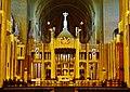 Koekelberg Basilique Nationale Sacré-Coeur Innen Lettner 2.jpg