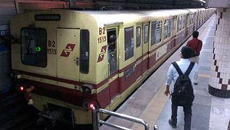 Kolkata Metro - BHEL rake (1000 series)