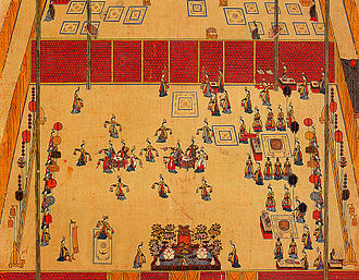 Korean dance - Royal court dance performing for King Gojong