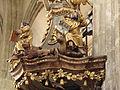Kostel sv. Jakuba (Kutná Hora), zvířata na kazatelně.JPG
