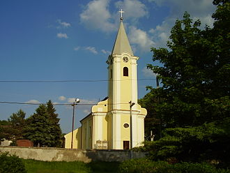 Čunovo - Local baroque church, built in the 18th century
