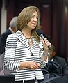Kristin Jacobs offers a question on the House floor.jpg