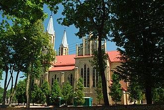 Krynki - Saint Anne Church in Krynki