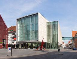 Kunsthalle Weishaupt Frontseite