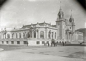 Kursaal Congress Centre and Auditorium - The historic Kursaal casino, next to the river's mouth