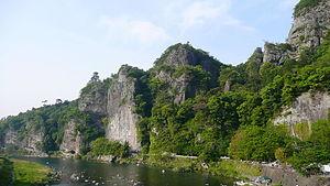 Yaba-Hita-Hikosan Quasi-National Park - Kyoshuho Peak of Yabakei Gorge, Ōita
