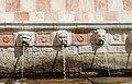 L'aquila, fontana delle 99 cannelle, mascheroni 04.jpg