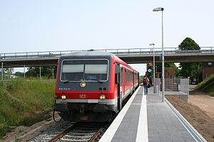 Lübeck Airport - Lübeck Airport train station