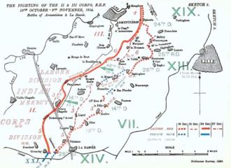 Battle of Armentières - La Bassée to Armentières, 19 October – 2 November 1914