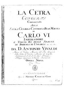 <i>La cetra</i> (Vivaldi)