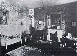 deco salon vintage moderne
