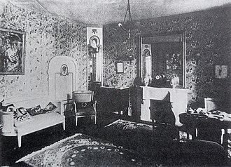 André Mare - Image: La Maison Cubiste, Le Salon Bourgeois, Salon d'Automne, 1912, Paris