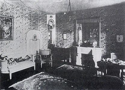 La Maison Cubiste, Le Salon Bourgeois, Salon d%27Automne, 1912, Paris