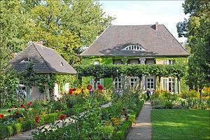 Liebermann Villa - The Liebermann Villa in summer