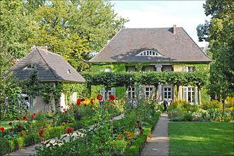 Liebermann Villa - The Liebermann Villa in summer