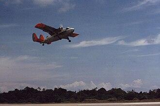 Scottish Aviation Twin Pioneer - Scottish Aviation Twin Pioneer at Labuan