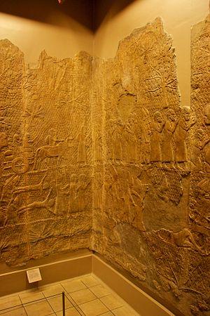 Lachish reliefs - Lachish Relief, British Museum