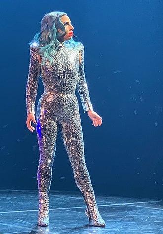 Lady Gaga Enigma - Gaga during the opening Enigma show on December 28, 2018