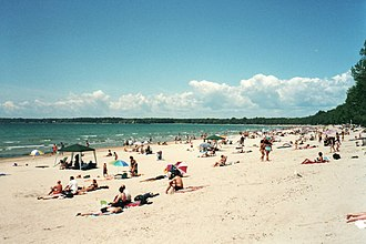 Ontario - Summer at Sandbanks Provincial Park on Lake Ontario.