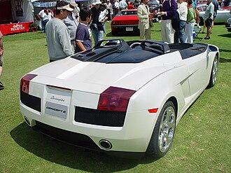 Lamborghini Gallardo - Lamborghini Concept S