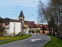 Lamonzie-Montastruc village.JPG
