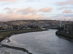 Lancaster and the Lune from the Greyhound Bridge.jpg