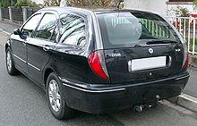 Lancia Lybra SW rear 20080407.jpg
