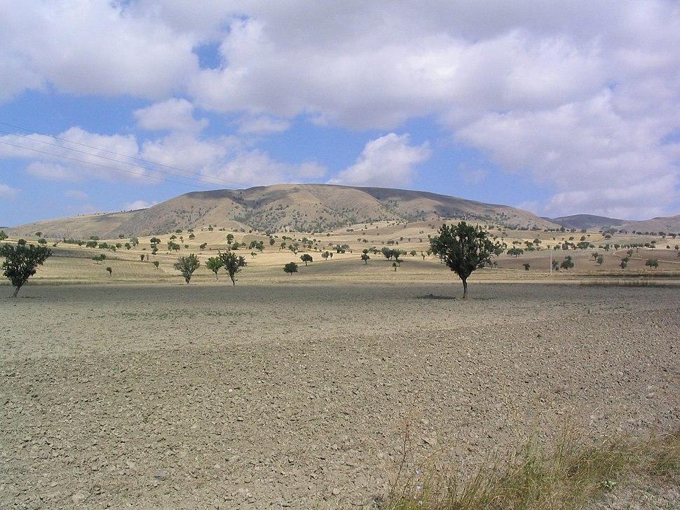 Landschaft westlich Ankara