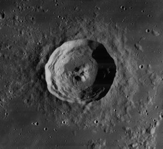 Philippe van Lansberge - Lansberg crater, on the moon