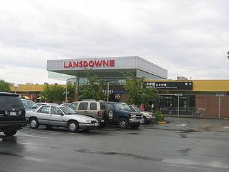 Lansdowne station (SkyTrain) - Lansdowne Centre