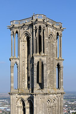 Laon Cathedral Northeast Tower 01