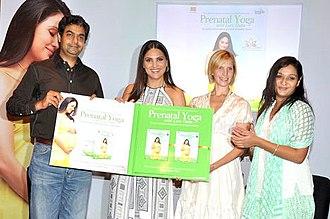 Lara Dutta - Dutta launches her Prenatal Yoga DVD