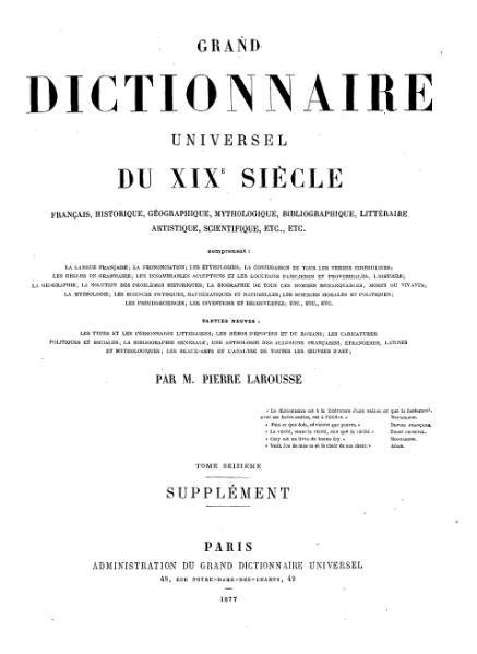 File:Larousse - Grand dictionnaire universel du XIXe siècle - Tome 17, part. 2, B-Che.djvu