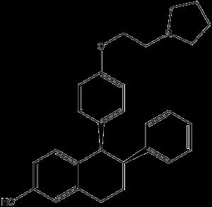 Lasofoxifene - Image: Lasofoxifene